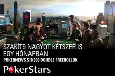 $50.000 vár gazdára a PokerStars PokerNews-exkluzív Double Freerolljain, ne hagyd ki!