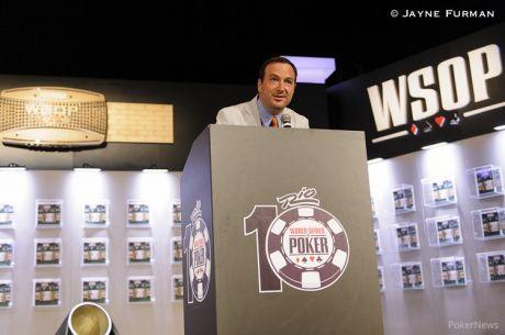"""Ty Stewart, director de las WSOP: """"Queremos un torneo de 10.000 personas el próximo..."""