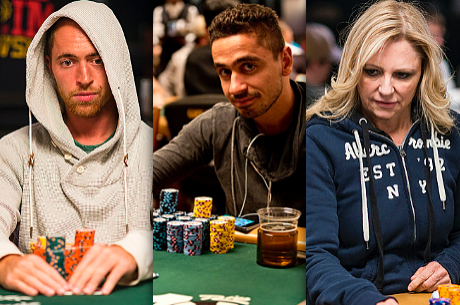 Mike Sowers, David Martirosyan e Jennifer Harman Lideram Eventos 10,11 e 12