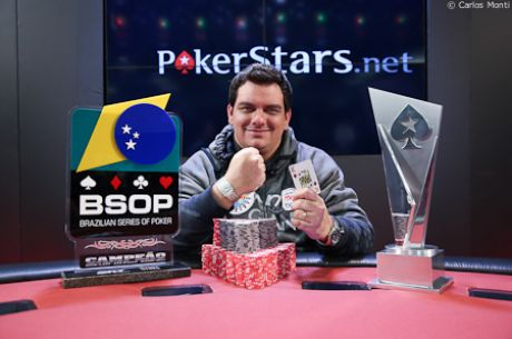 Brazil's Caio Hey Wins LAPT Sao Paulo After Five Minute Heads-Up Match