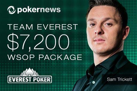 Ma este startol az utolsó Everest Freeroll, amellyel $7.200-os WSOP csomagot nyerhetsz!
