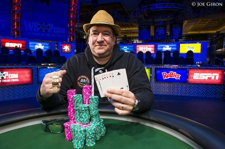 2014 World Series of Poker: Christopher Wallace holt Bracelet bei Event 22