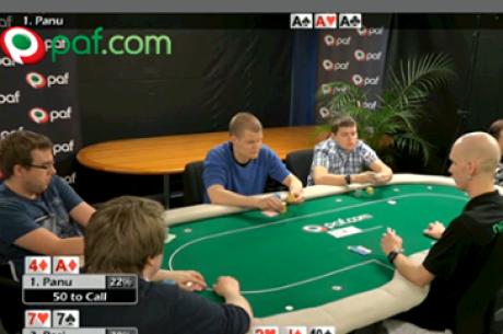 Sander Laprik ja Enri Orav osalesid edukalt Pafi kõrges rahamängus