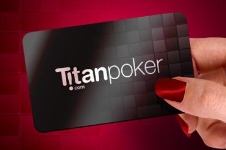 €10 versenybeülő befizetés nélkül a Titan Pokeren