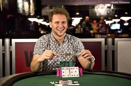 """Calvin """"cal42688"""" Anderson wygrywa pierwszą bransoletkę za Event #30: $1,500..."""