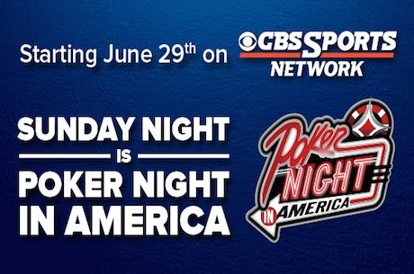 Poker Night in America Announces Broadcast Agreement with CBS Sports Network
