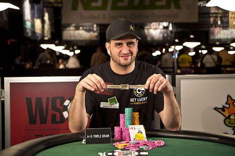 Rapid Reaction: Robert Mizrachi Wins 2nd Bracelet in Dealer's Choice Debut