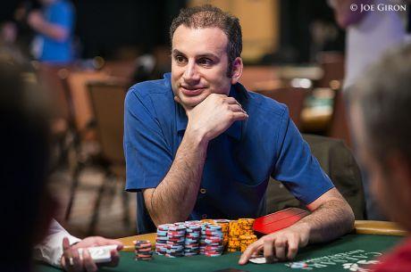 Abe Mosseri Chip Leader do $50k Poker Players Championship