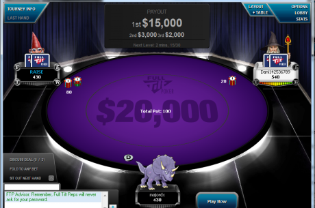 Russian Student Turns $10 into $15,000 on Full Tilt Poker Jackpot Sit-and-Go Table