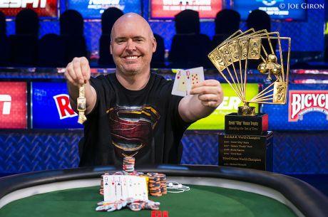 WSOP día 31: John Hennigan se lleva el trofeo Chip Reese (actualizado)