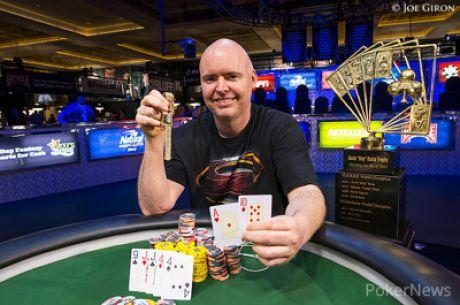 VIDEO: $50 000 Poker Players' Championship turniiri võitis 43-aastane ameeriklane