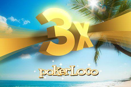 Verão Loco na PokerLoco: Três Freerolls de €500 este Verão