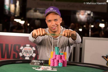 Philo Ivey kolekcijoje - 10-oji WSOP apyrankė!