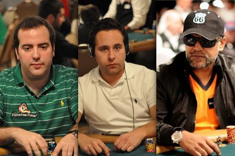 Carlos Oliveira, Sérgio Coutinho e Ayaz Manji ITM & Out do Monster Stack