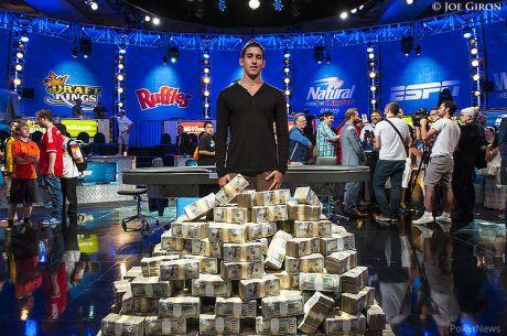 WSOP miljoniturniiri võitis netiproff Daniel Colman, runner-up Daniel Negreanu