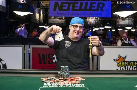WSOP día 37: Jared Jaffee estrena brazalete de oro (actualizado)