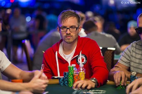 Martin Jacobson é o Chip Leader do Dia 1A do Main Event das WSOP de 2014