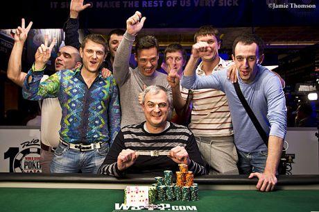 WSOP día 41: Igor Dubinskyy se lleva el último brazalete del verano