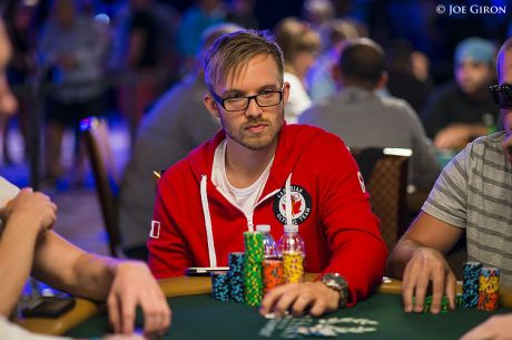WSOP Main Event Canadian Contingent: A Swede in Canada Red on Top after Day 1a