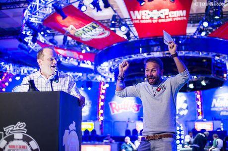 WSOP serijoje Danielis Negreanu uždirbo per 7 milijonus dolerių