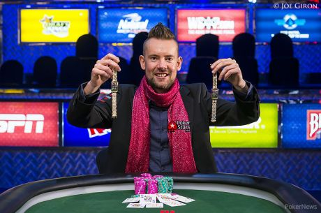 VIDEO: George Danzer Talks Bracelets, Free Poker Strategy and a Trash-Talking Dan Colman