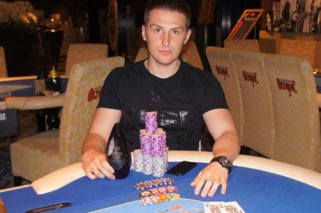 """Varžovus pranokęs Aleksejus Sokolovas laimėjo pagrindinį """"Summer Rock Poker Session""""..."""