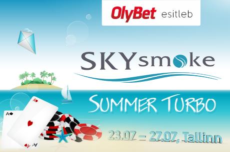 Täna OlyBetis PokerNews Eesti SKYsmoke freeroll (parooliga)