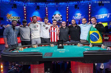 WSOP pagrindiniame turnyre paaiškėjo 9 finalininkai