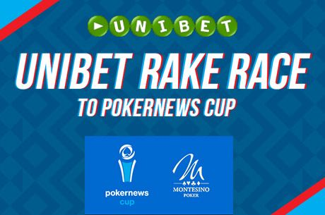 Juss ki a €75.000 garantált PokerNews Cup-ra az Unibet Poker Rake Race-értől!
