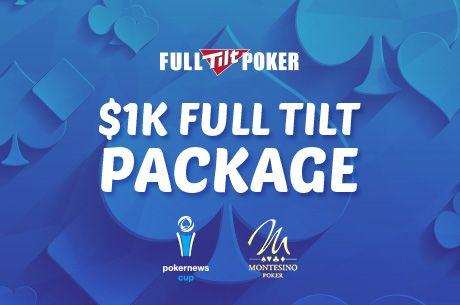 18 x $1.150-os csomag a Full Tilt Pokertől a Montesinoban rendezett PokerNews Cup-ra