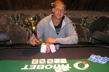 Esimeseks Otepää pokkerimeistriks tuli Mirko Raid