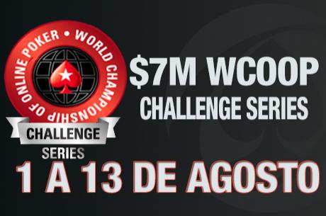 WCOOP Challenge Series de 1 a 13 de Agosto na PokerStars