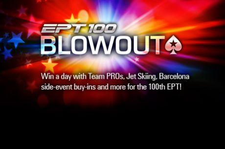 EPT 100-ojo Pagrindinio Turnyro belaukiant: internetinių atrankų laimėtojams PokerStars...