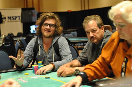 2014 MSPT Meskwaki Day 1a: Brandon Meyers Bags Chip Lead; Kessler and Tryba Fall
