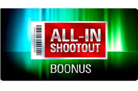 PokerStarsi All-In Shootout boonusturniiridel läheb jagamisele 150 000 dollarit