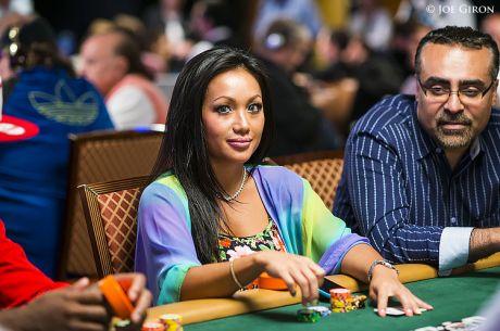 Lily Kiletto - įspūdingų formų mergina, vos nepakeitusi World Poker Tour istorijos