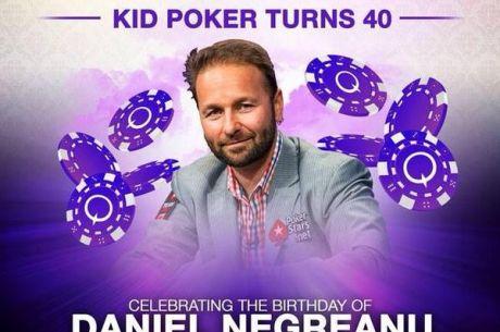 Daniel Negreanu oslavoval čtyřicítku dva dny