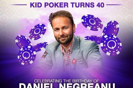 Daniel Negreanu oslavoval štyridsiate narodeniny dva dni