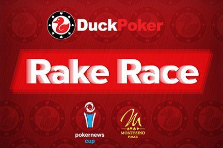 Dostaňte se na PokerNews Cup s DuckPoker RakeRace