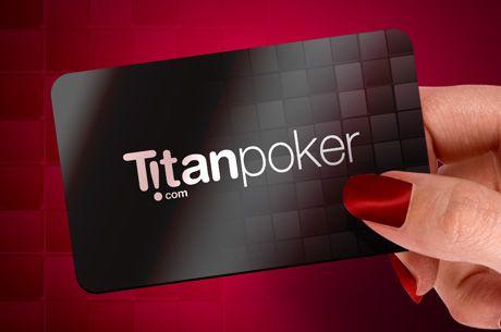 €10 Grátis em Tokens Turbo Double Up Sit&Go na Titan Poker