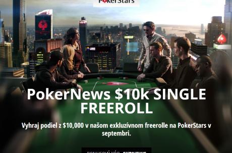 Vyhraj podiel z $10,000 v našom exkluzívnom freerolle na PokerStars