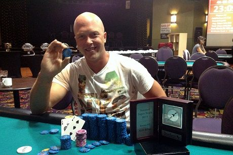 Francis Rivard Takes Home First Trophy at Deerfoot Inn & Casino Summer Super Stack
