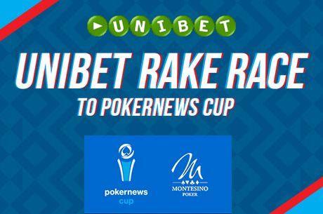 Unibet Rake Race: Nyerj €850-os csomagot a PokerNews Cup-ra!