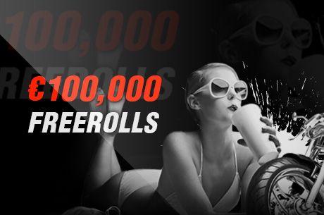 Titan Poker: Freerolle o 100 tysięcy i 10 euro na start