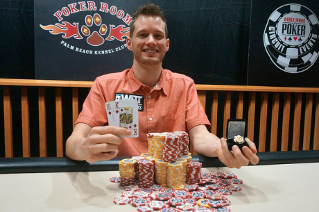 Tristan Wade Wins WSOP Circuit Palm Beach Kennel Club Main Event for $106,806