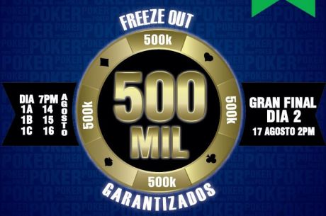 Room Poker Club y su 500K Garantizado