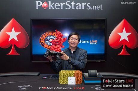 China's Zhenru Xie Wins Macau Poker Cup 21 Red Dragon Main Event for HK$1,667,000