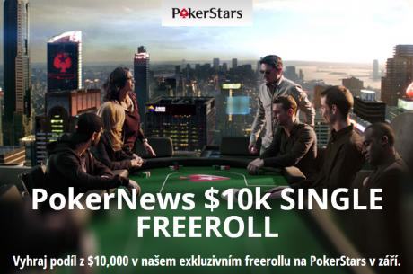 Vyhraj podíl z $10,000 v našem exkluzivním freerollu na PokerStars.