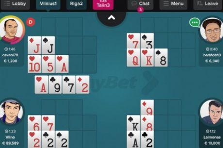 Androidra és iOS-re is elérhető a Tonybet Open Face Chinese Poker mobilalkalmazása!