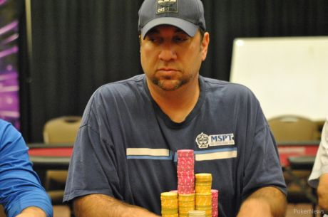 2014 MSPT Grand Falls Casino Day 1a: Team Pro Blake Bohn Bags Massive Chip Lead